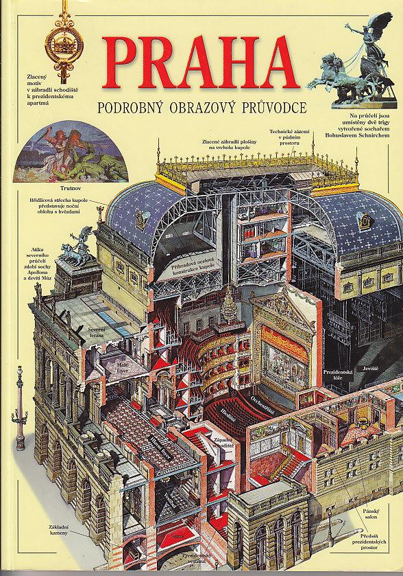 Praha podrobný obrazový průvodce